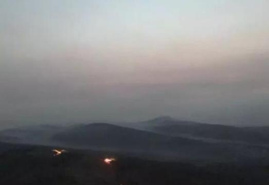 吉林延边珲春市中俄边境,俄方境内发生森林火灾,明火暂已扑灭资讯生活